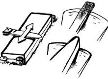 Broušení nože a sekery