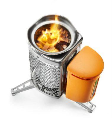 BioLite CampStove s termoelektrickým článkem.