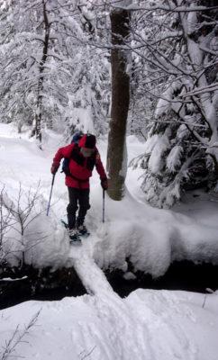 Čím náročnější terén, tím víc člověk sněžnice ocení.