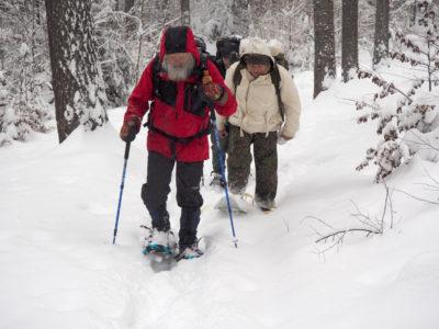 Sněžnice umožňují putovat v zimě cestou necestou.