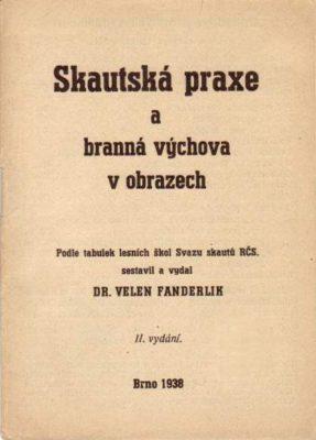 Titulní stránka vydání z roku 1938 je převzatá zwebu skautska-literatura.skauting.cz.